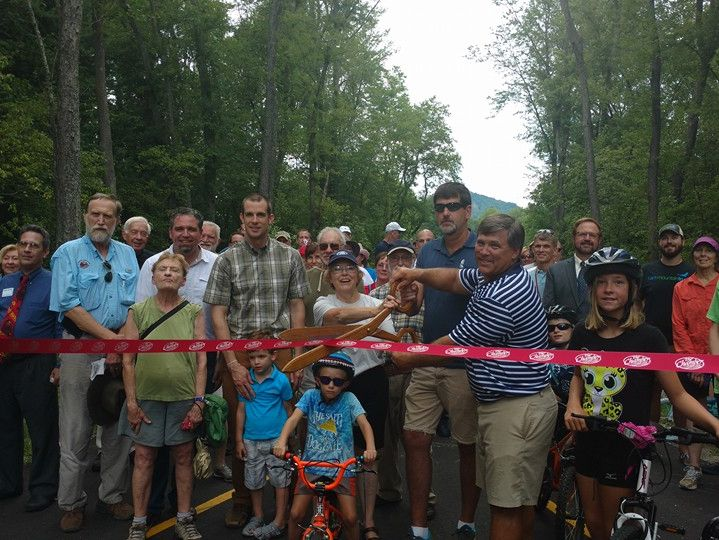 Grand Opening of Phase III of the Greenway